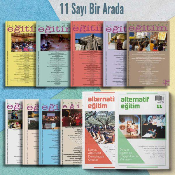 Alternatif Eğitim Abonelik 11 Sayı Bir Arada Ürün Detay