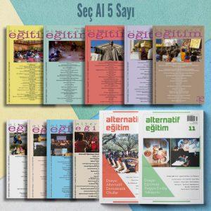 Alternatif Eğitim Abonelik Seç Al 5 Sayı Ürün Detay