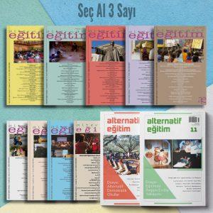 Alternatif Eğitim Abonelik Seç Al 3 Sayı Ürün Detay