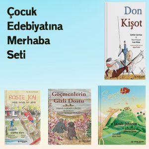çocuk edebiyatına merhaba seti.Ürün Detay